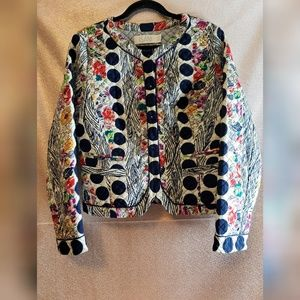 Anthropologie Isani Salesalta Floral Quilted